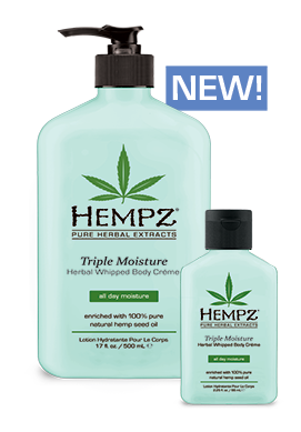 Hempz Triple Moisture Herbal Whipped Creme